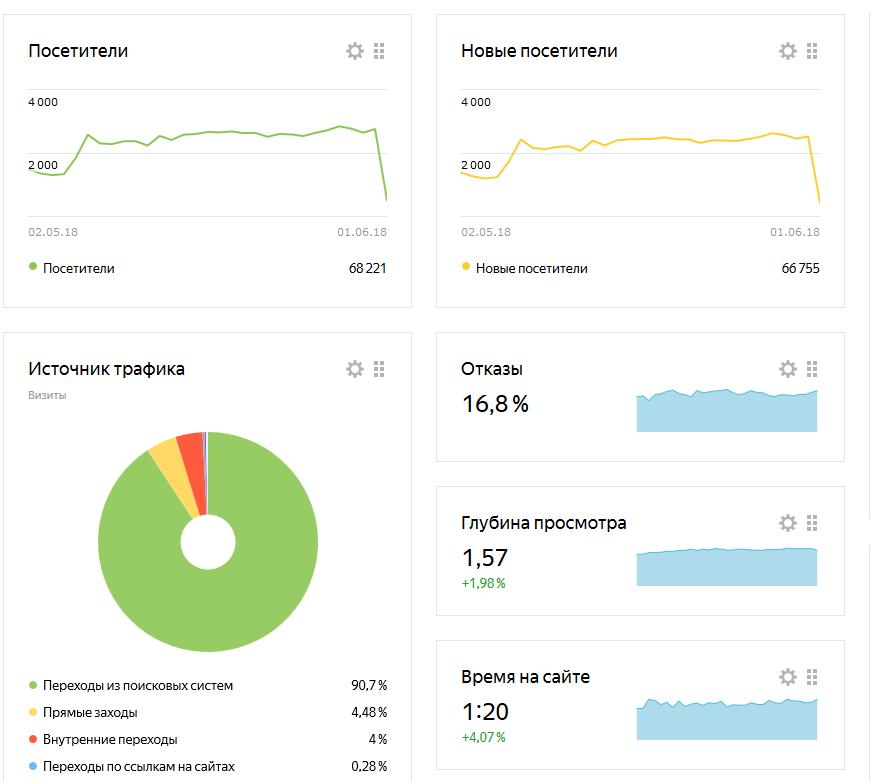 Яндекс Метрика СДЛ